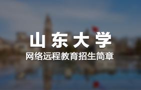 山东大学网络远程12bet手机版客户端招生简章